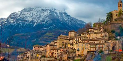 Il paese di Montefortino