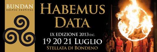 Habemus Data: 19-20-21 luglio 2013