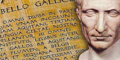 Dove si trova il testo originale del De Bello Gallico?